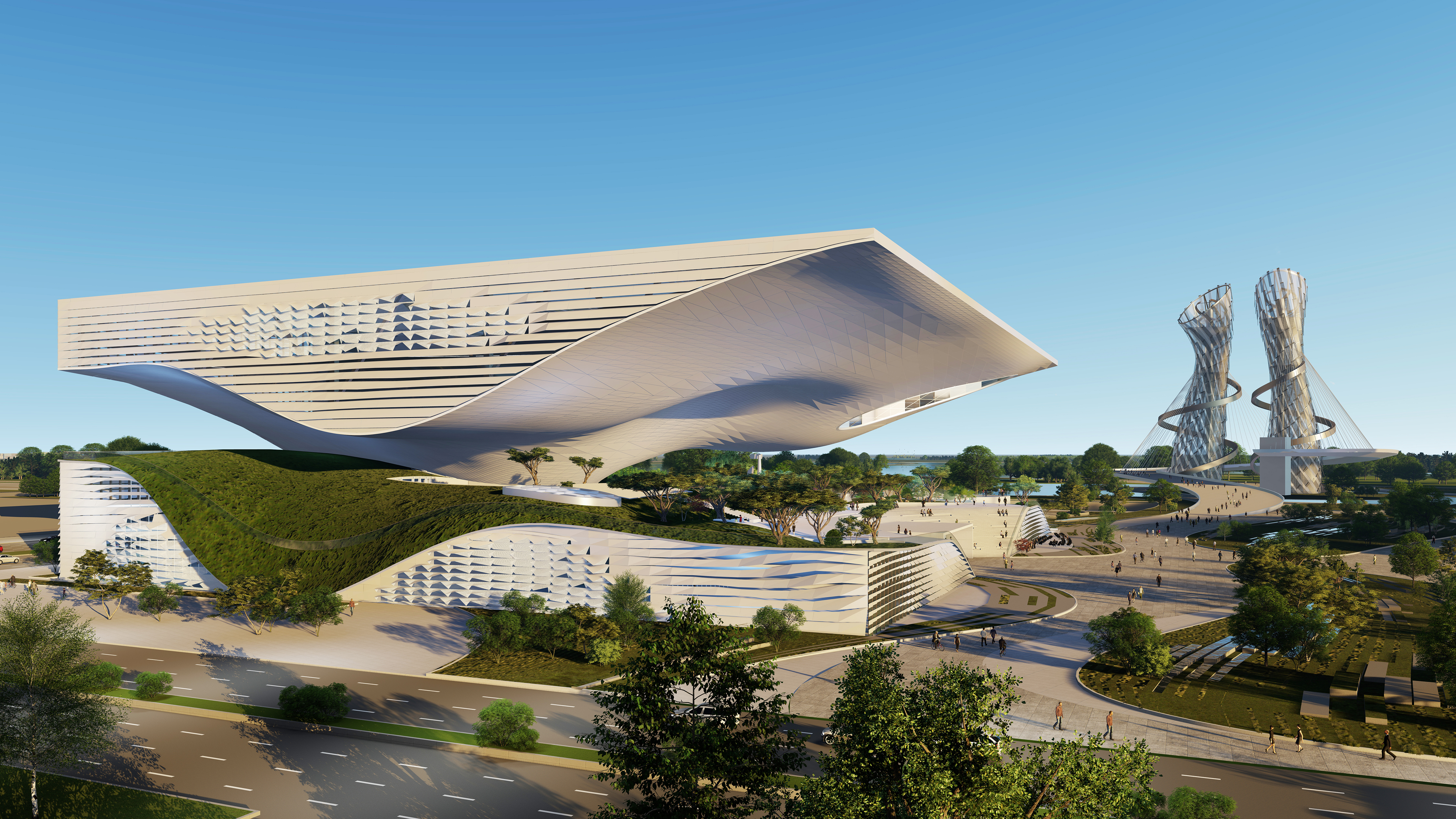 Science & Technology Museum by Coop Himmelb(l)au